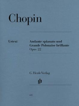Andante Spianato and Grande Polonaise Brillante E Flat Major Op. 22 (P (HL-51480631)