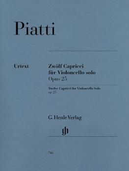 12 Capricci Op. 25 (Cello Solo) (HL-51480746)
