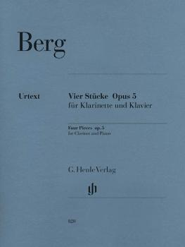 Four Pieces, Op. 5 (for Clarinet and Piano) (HL-51480820)