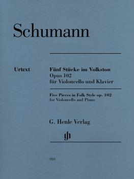 5 Pieces in Folk Style, Op. 102 (With Marked and Unmarked String Parts (HL-51480910)