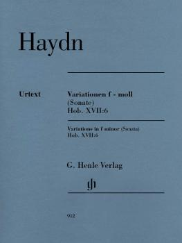 Variations in F minor (Sonata), Hob.XVII:6 (Revised Edition) (HL-51480912)