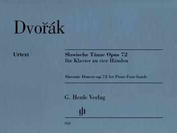 Slavonic Dances, Op. 72 (One Piano, Four Hands) (HL-51480918)
