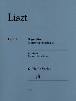 Rigoletto - Concert Paraphrase (Piano) (HL-51480978)