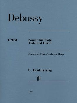 Claude Debussy - Sonata for Flute, Viola and Harp (HL-51481026)