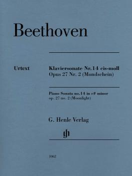 Piano Sonata No. 14 in C-sharp minor, Op. 27, No. 2 (Moonlight) (HL-51481062)