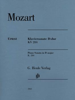 Wolfgang Amadeus Mozart - Piano Sonata in D Major, K. 284 (205b) (HL-51481063)