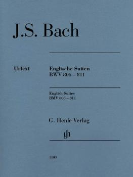 English Suites BWV 806-811: Edition without fingering (HL-51481100)