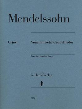 Felix Mendelssohn - Venetian Gondola Songs (Piano) (HL-51481172)
