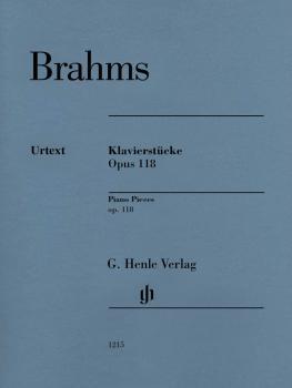 Klavierstücke, Op. 118 [Piano Pieces] (HL-51481215)