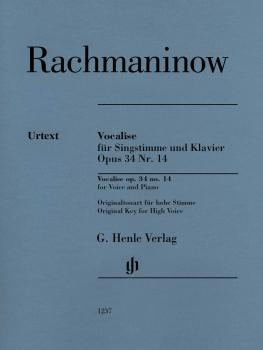 Vocalise Op. 34 No. 14 (for Voice and Piano) (HL-51481237)