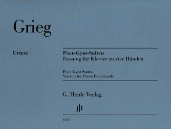Peer Gynt Suites (Version for Piano Four-Hands) (HL-51481243)