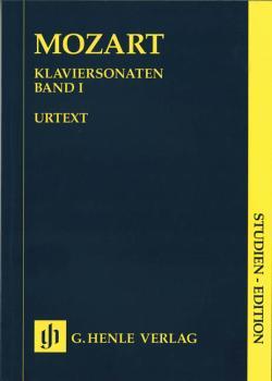 Piano Sonatas - Volume I: Piano Solo Study Score (HL-51489001)