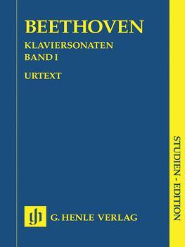 Piano Sonatas - Volume I (Study Score) (HL-51489032)