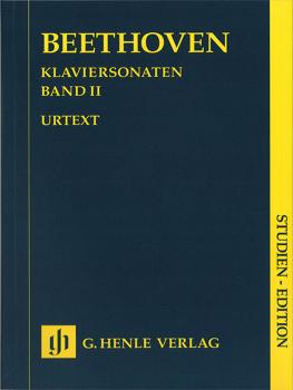 Piano Sonatas - Volume II: Piano Solo Study Score (HL-51489034)