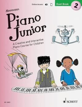 Piano Junior: Duet Book 2: A Creative and Interactive Piano Course for (HL-49045452)