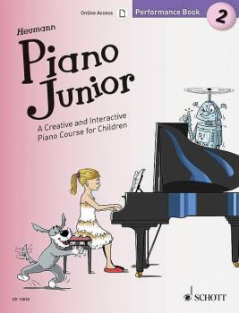Piano Junior: Performance Book 2: A Creative and Interactive Piano Cou (HL-49045453)