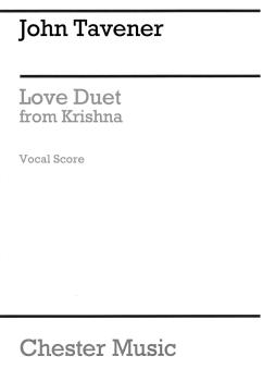 Love Duet from Krishna (for Soprano, Tenor and Orchestra Vocal Score) (HL-14048202)