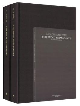 L'equivoco stravagante Critical Edition Full Score, 2 hardbound editio (HL-50600493)