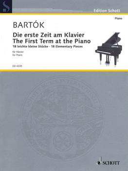 The First Term at the Piano - 18 Elementary Pieces: Die erste Zeit am  (HL-49031519)
