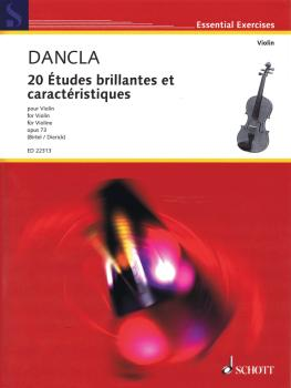20 Études brillantes et caractéristiques, Op. 73 (Violin Solo) (HL-49045326)