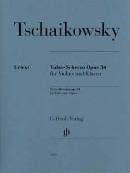 Valse-Scherzo Op. 34 (Violin and Piano) (HL-51481273)