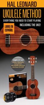 Hal Leonard Ukulele Method Starter Pack (Spanish Edition) (HL-00196707)