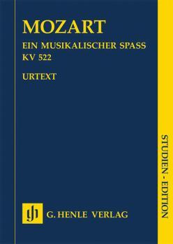 A Musical Joke K. 522 (for 2 Violins, Viola, Basso and 2 Horns in F St (HL-51487281)