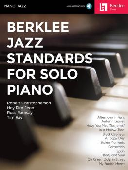 Berklee Jazz Standards for Solo Piano (HL-00160482)