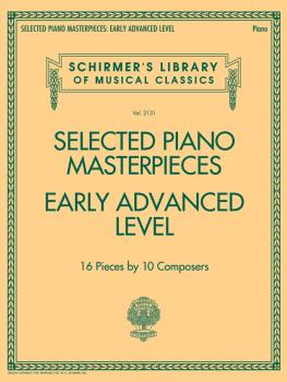 Selected Piano Masterpieces - Early Advanced Schirmer's Library Of Mus (HL-50600825)