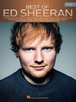 Best of Ed Sheeran for Easy Piano (Updated Edition) (HL-00236098)