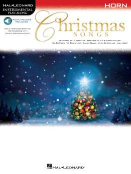 Christmas Songs (for Horn Instrumental Play-Along) (HL-00146863)