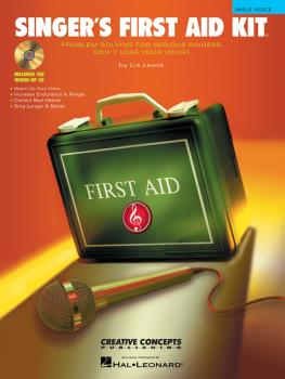 Singer's First Aid Kit - Male Voice (Book/CD Pak) (HL-00315183)