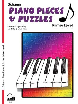 Piano Pieces & Puzzles: Primer Level Early Elementary Level (HL-00645086)
