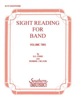 Sight Reading for Band, Book 2 (Eb Alto Saxophone) (HL-03770702)