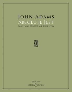 Absolute Jest (for String Quartet and Orchestra) (HL-48024063)