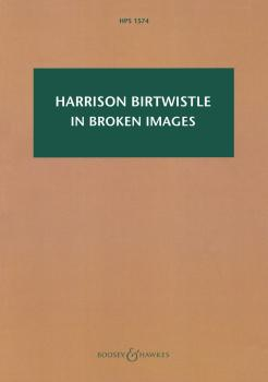 In Broken Images: After the Antiphonal Music of Gabrieli: Study Score  (HL-48024086)