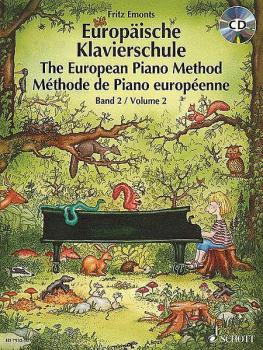 The European Piano Method - Volume 2 (Book/CD) (HL-49007647)