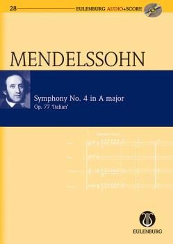 Symphony No. 4 in A Major Op. 90 Italian Symphony: Eulenburg Audio+Sco (HL-49044027)