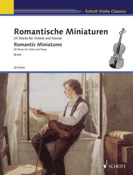 Romantische Miniaturen [Romantic Miniatures] (for Violin and Piano) (HL-49045603)