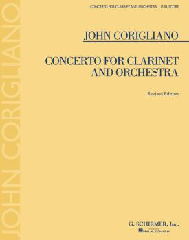 Concerto for Clarinet and Orchestra (Revised Edition) (HL-50339840)