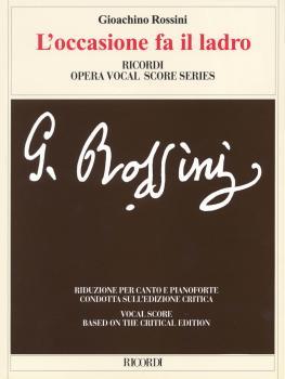 L'occasione Fa Il Ladro (Vocal Score) (HL-50486671)