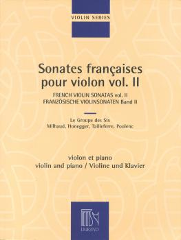 French Violin Sonatas - Volume 2 (Violin and Piano) (HL-50564863)