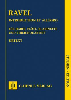 Introduction et Allegro (for Harp, Flute, Clarinet, and String Quartet (HL-51487069)