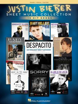 Justin Bieber - Sheet Music Collection (17 Hit Songs) (HL-00248634)