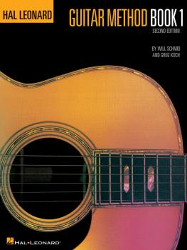 Hal Leonard Guitar Method Book 1 (Book Only) (HL-00699010)