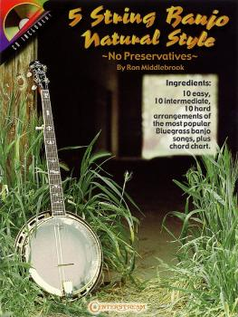 5 String Banjo Natural Style (No Preservatives) (HL-00000284)
