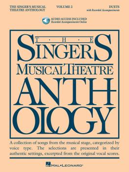 Singer's Musical Theatre Anthology - Volume 2: Duets Book/2 CDs Pack (HL-00000492)