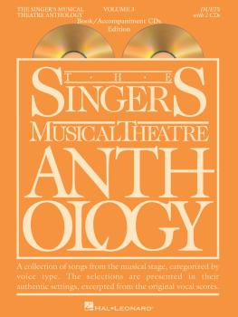 Singer's Musical Theatre Anthology Duets Volume 3 (Book/CDs) (HL-00001166)