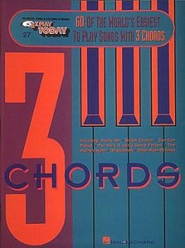 60 of the World's Easiest to Play Songs with 3 Chords: E-Z Play Today  (HL-00001236)