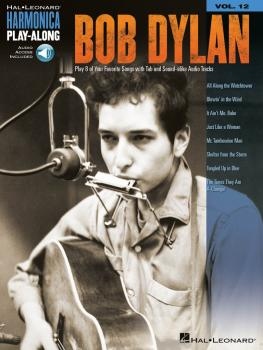 Bob Dylan: Harmonica Play-Along Volume 12 (HL-00001326)